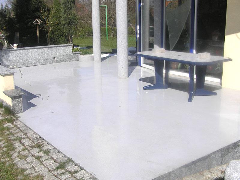 erneuerung einer vorhandenen terrasse br ckner co. Black Bedroom Furniture Sets. Home Design Ideas