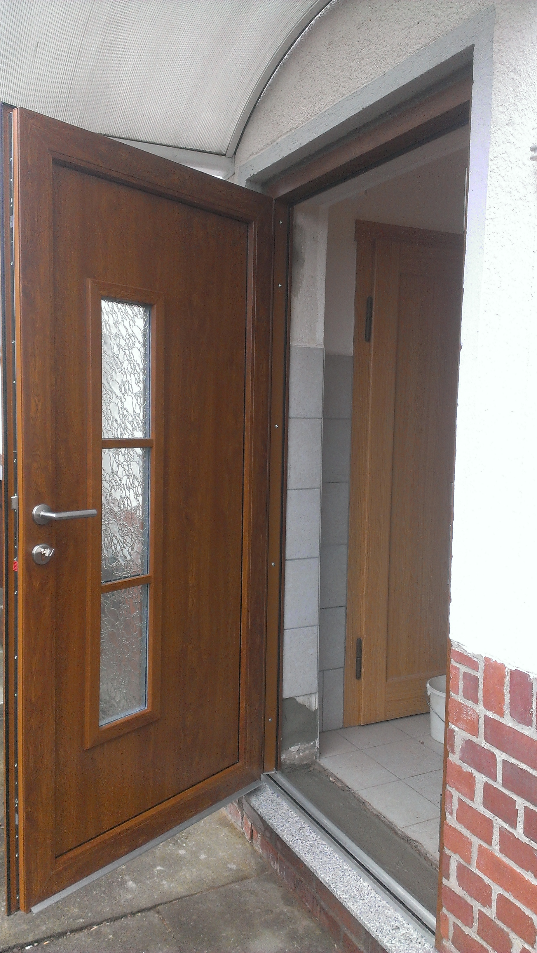 Fabulous Haustür mit neu gesetzter Granitschwelle - Brückner & Co OC88